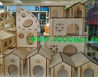 Деревянные домики для грызунов и птиц от Омских производителей!